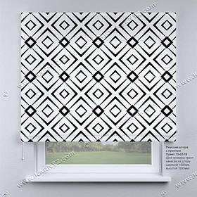 Римская фото штора Абстракция. Бесплатная доставка. Любой размер до 3,5х3,5м. Гарантия. Арт. 15-03-18