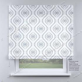 Римская фото штора Абстракция. Бесплатная доставка. Любой размер до 3,5х3,5м. Гарантия. Арт. 15-03-59