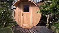 Баня бочка под ключ модель «Для дома»