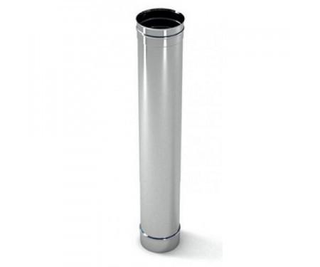 Труба дымоходная из нержавеющей стали 0,8мм L=1м диам.