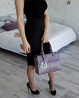 Сумка с натуральной кожи пудрового цвета Селин АРТ. 02030, фото 1