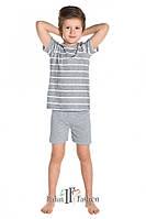 Пижама PIŻAMA I FASH DZ JOWISZ KR KR 4-6L, размеры  98-104, 110-116, хлопок, Польша, фото 1