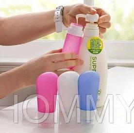 Флакон силиконовый для косметических или парфюмерных средств в дорогу, 89мл