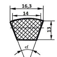 Ремень  SPB-1320