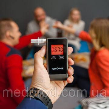 АлкотестерАлкоФор 205 для определения алкоголя в выдыхаемом воздухе с поверкой