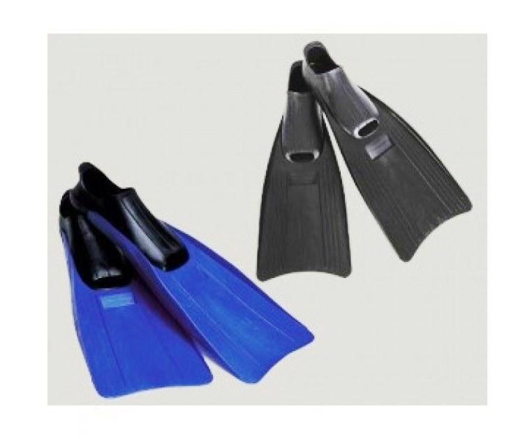 Ласты для плавания Intex 55934, M (38-40), 24-26 см, черные и синие