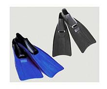 Ласти для плавання Intex 55934, M (38-40), 24-26 см, чорні і сині