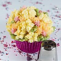 Кондитерская насадка Цветок фигурный