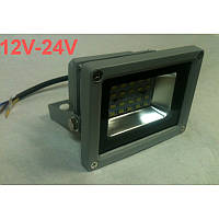 Светодиодный прожектор SMD 5730/20 10W 12-24V 6500К IP65 Код.59483