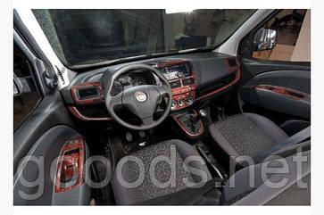 Накладки на панель приборов Fiat Doblo 2009+