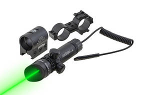 Лазерный целеуказатель JG1/3G Bassell зеленый луч