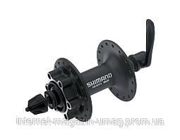 Втулка передняя под диск 32H 14G с QR Shimano Alivio HB-M475