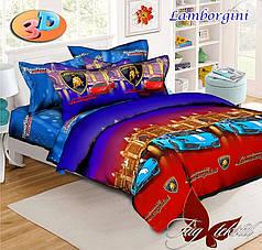 Детское полуторное постельное белье Lamborgini