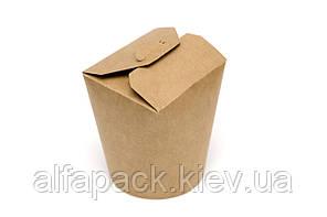 Коробка для лапши экокрафт 500 мл, упаковка 50 шт, (3,6 грн/шт)