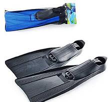 Ласти для плавання Intex 55935 XL (41-45), 26-29 см, сині і чорні