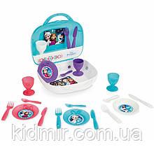 Набір посуду Frozen в кейсі 22 предмета Smoby 310548