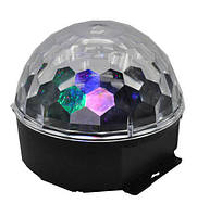 Диско-шар светодиодный Led Magic Ball, Диско-куля світлодіодний Led Magic Ball, Световое оборудование, Світлове обладнання
