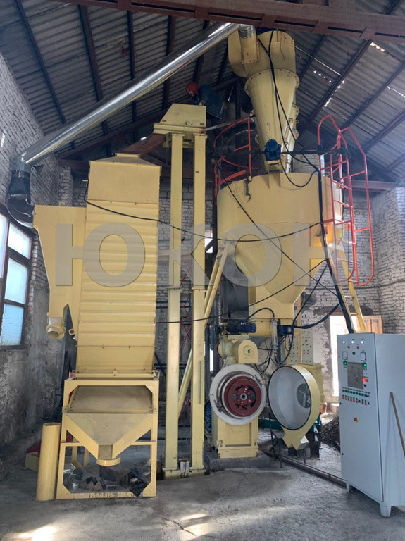 Линия гранулирования ШРОТА (2 тонны в час)
