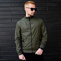 Бомбер мужской весенний / летний / куртка хаки