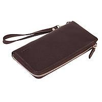 Женский кошелек Eminsa 2104-3-3 кожаный коричневый, фото 1