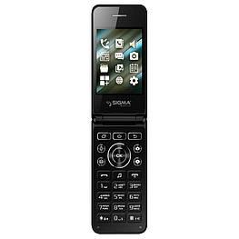 Мобильный телефон Sigma mobile X-style 28 Flip Black Spreadtrum SC6531CA 800 мАч
