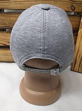 Мужская кепка New York серого цвета материал трикотаж сезон весна-лето большая вышивка с регулятором, фото 3