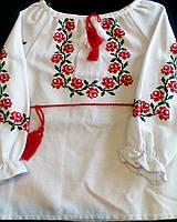 Вышиванка для девочки (ручная вышивка)''Розочки''