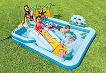 Дитячий ігровий надувний центр Джунглі 257*216*84 см