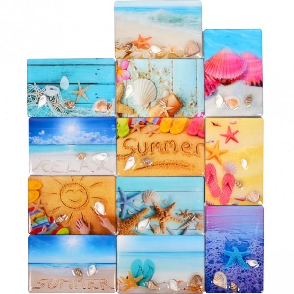 Магнит «Лето» 9×6 см