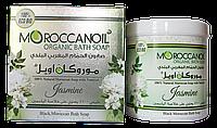 Натуральное марокканское мыло MoroccanOil Organic Bath Soap with Natural Jasmine для лица и тела 250 мл