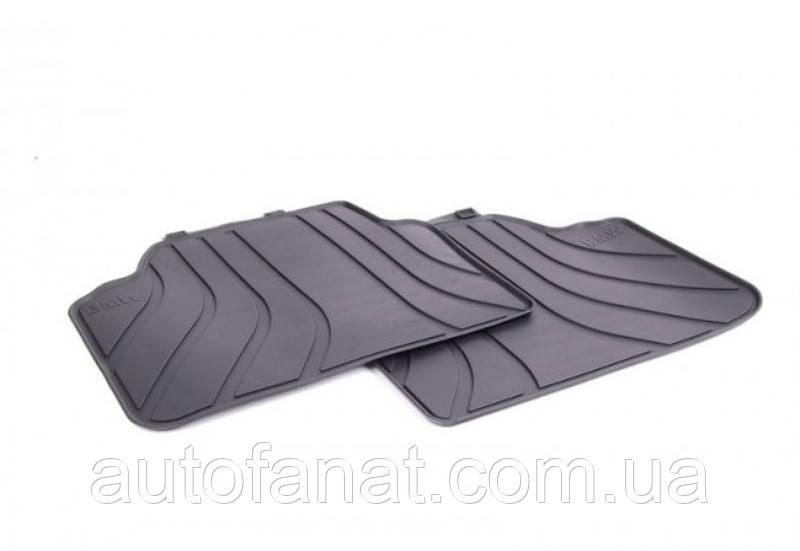 Оригинальные коврики BMW 3 (E90, E91) задние резиновые в салон (51472336599)