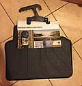 Оригинальные коврики BMW 3 (E90, E91) задние резиновые в салон (51472336599), фото 4