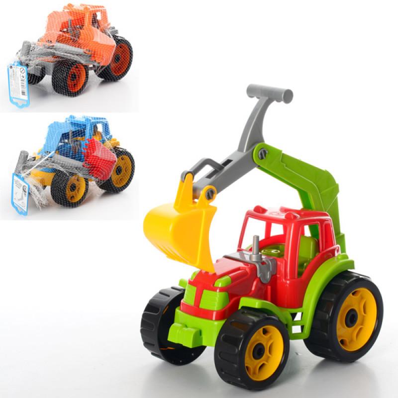 """Іграшка """"Трактор з ковшем ТехноК"""" арт. 3435"""