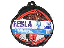 Провода прикуривателя 500 А 3м в чехле Pulso (-50°С)