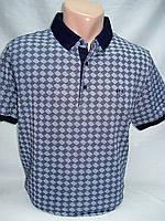 Футболка-поло мужская VIKTORIO синий паркет (M,L,2XL,3XL)