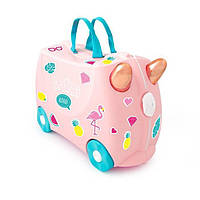 Дитячий валізу Trunki Фламінго