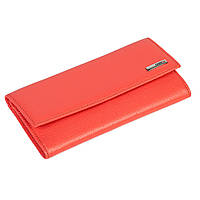 Женский кошелек Eminsa 2060-12-25 кожаный коралловый, фото 1
