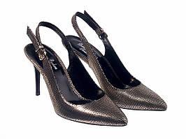 Туфлі Etor 6926-13-9653-83 золотисті