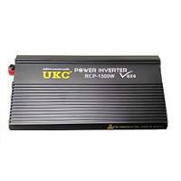 Профессиональный преобразователь инвертор UKC 12V-220V RCP-1500W