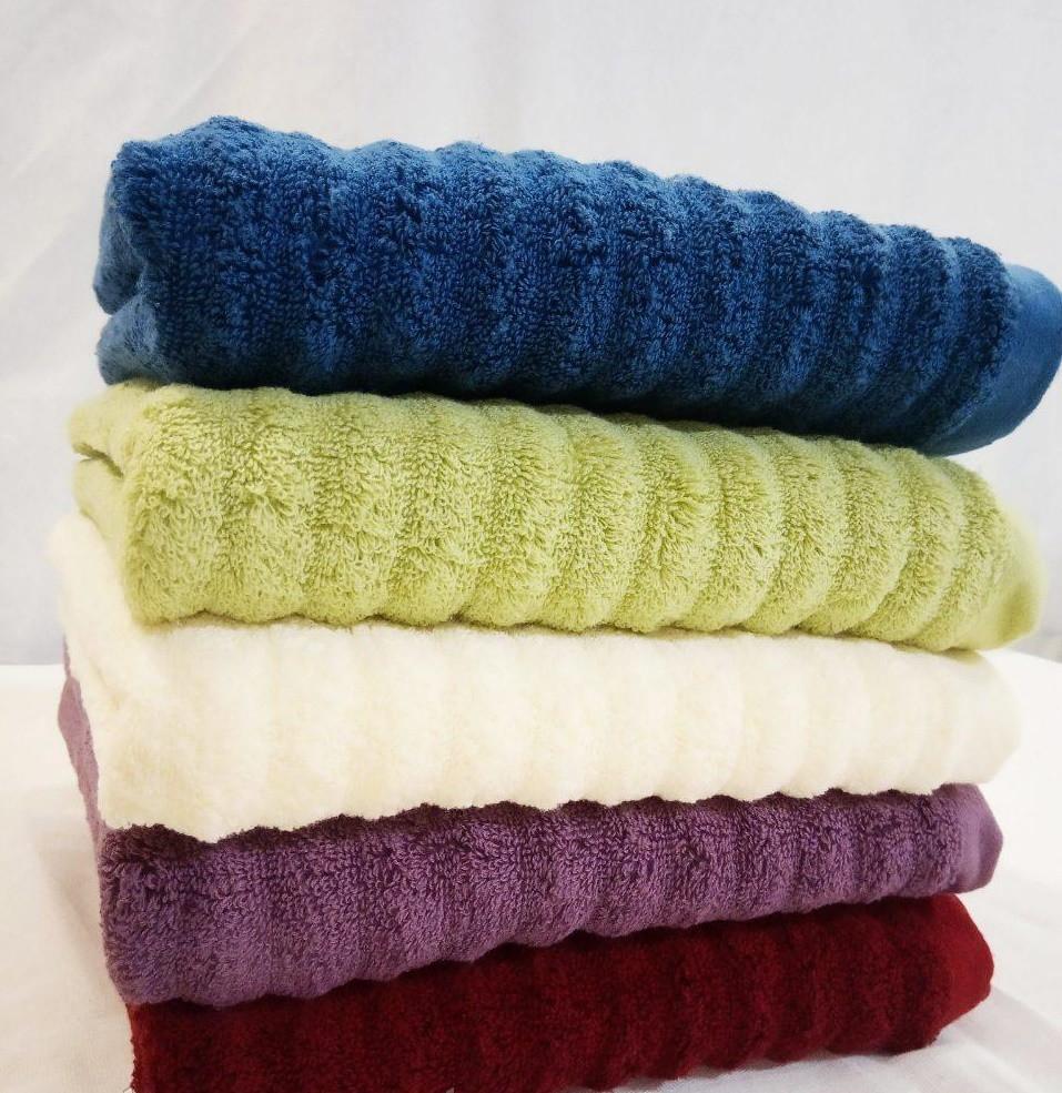 ЛИЦЕВОЕ махровое полотенце. Махровые полотенца фото 90-2