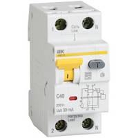 Дифференциальный автоматический выключатель АВДТ 32 1+N 20А 30мА ИЭК