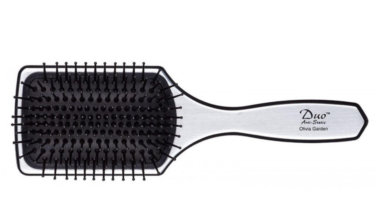 Щётка для волос Olivia Garden DUO с зеркалом OGBDUO