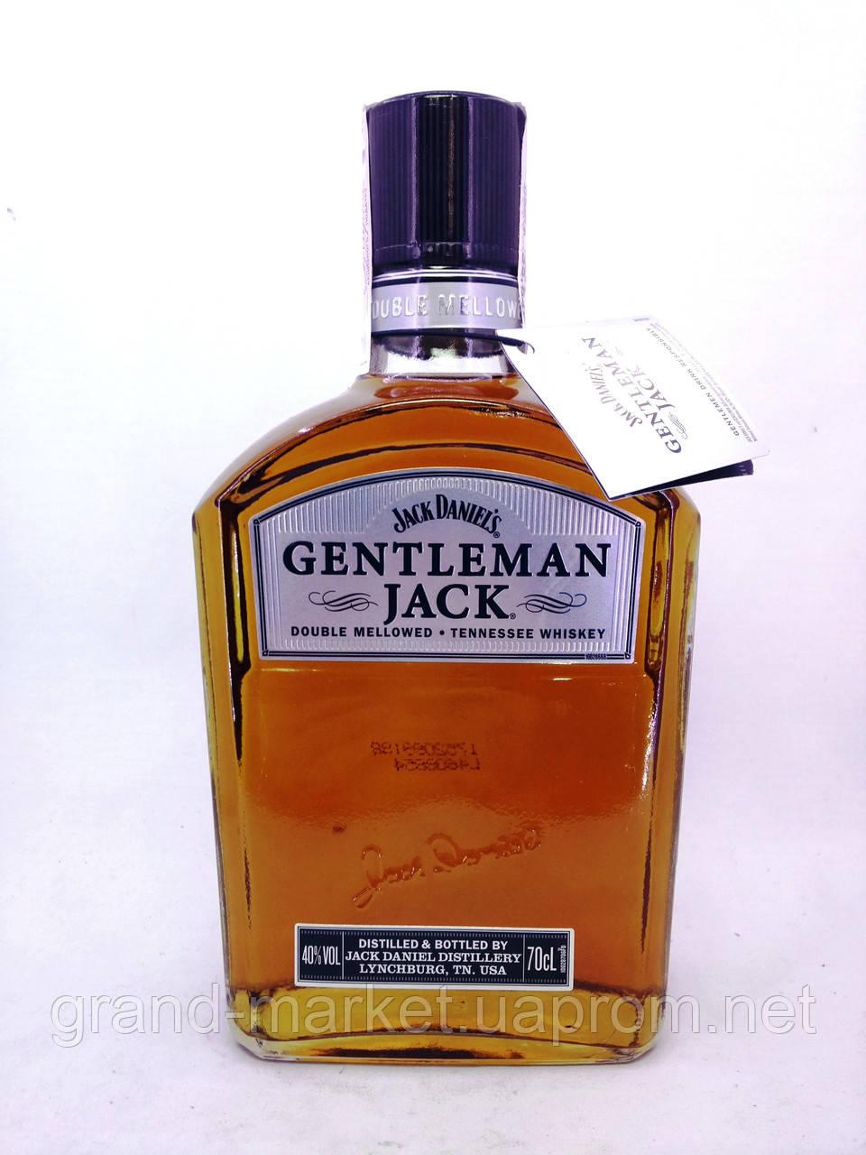 """Віскі Jack daniel's Gentleman Jack """" 0.7 l"""