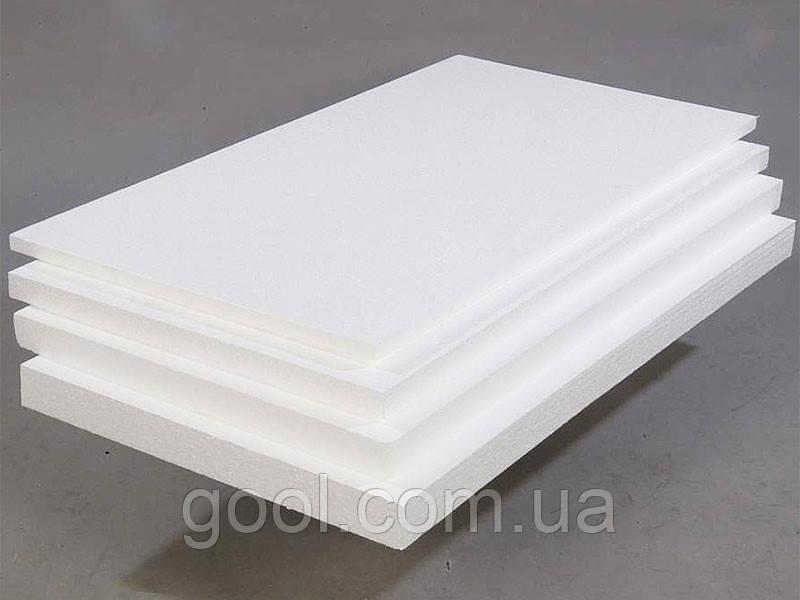 Пенопласт листы метр на метр 1000х1000 толщиной от 10 до 500 мм. ПСБ-С плотность 15-35