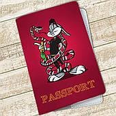 Обложка на паспорт Багз Банни (Bugs Bunny) (24942-1507)