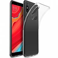 Чехол-накладка Case для Xiaomi Redmi S2 силиконовый прозрачный