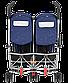 Коляска для двойни Maclaren  прогулочная TWIN Triumph Blue/Silver WM1Y120042 , фото 6