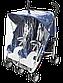 Коляска для двойни Maclaren  прогулочная TWIN Triumph Blue/Silver WM1Y120042 , фото 7