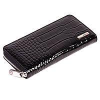 Женский кошелек Eminsa 2036-8-1 кожаный черный