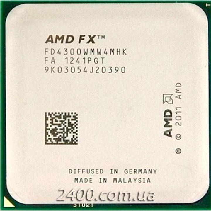 Процессор AMD FX-4300 3.8GHz (FD4300WMW4MHK) Socket AM3+ 95W